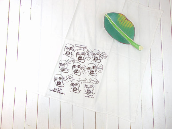 Kitchen Towel for Surfer