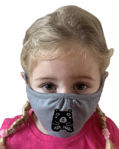 "Art Mina Kids Face Mask ""Air Hug Bear"""