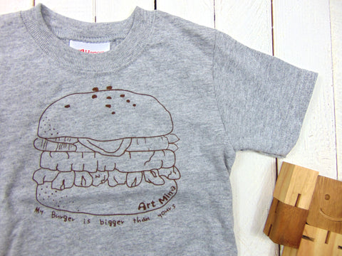 Art Mina Kids Burger Tee