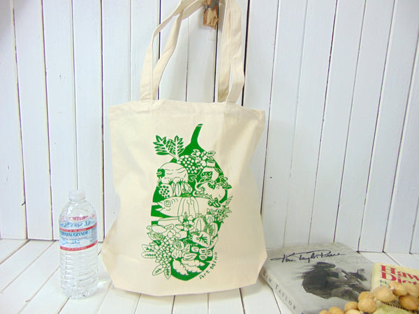 Luau Hawaiian Party Canvas Tote Bag