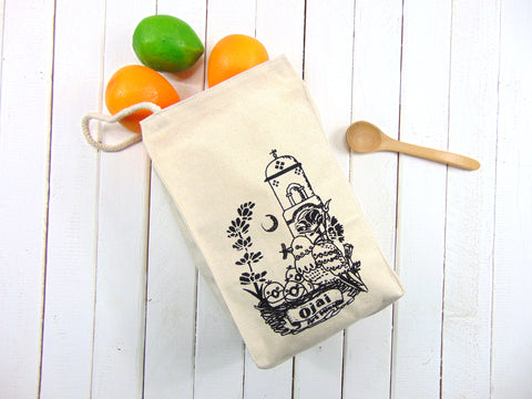 Ojai Canvas Lunch Bag