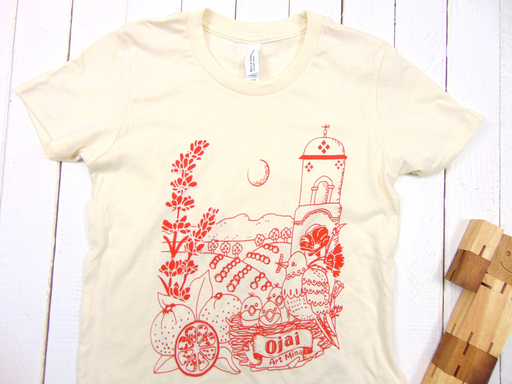 Art Mina Ojai California Toddler & Youth Tee