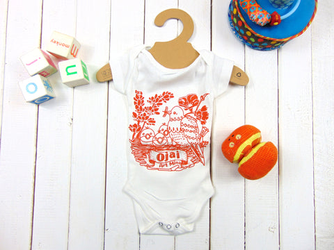 "Art Mina Organic Baby Clothes Ojai California ""Me! Me!"""
