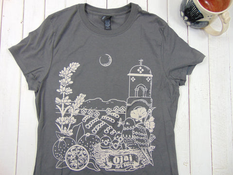 Soft Women's Tee Ojai California