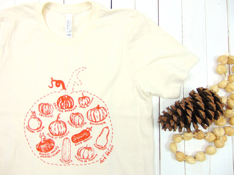 Art Mina Pumpkin T-Shirt