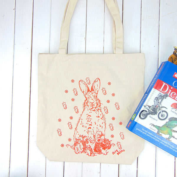 Grocery Cotton Tote Bag