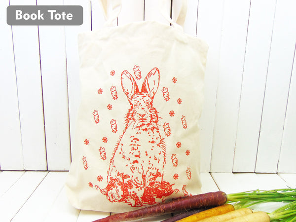 Reusable Bunny Tote Bag