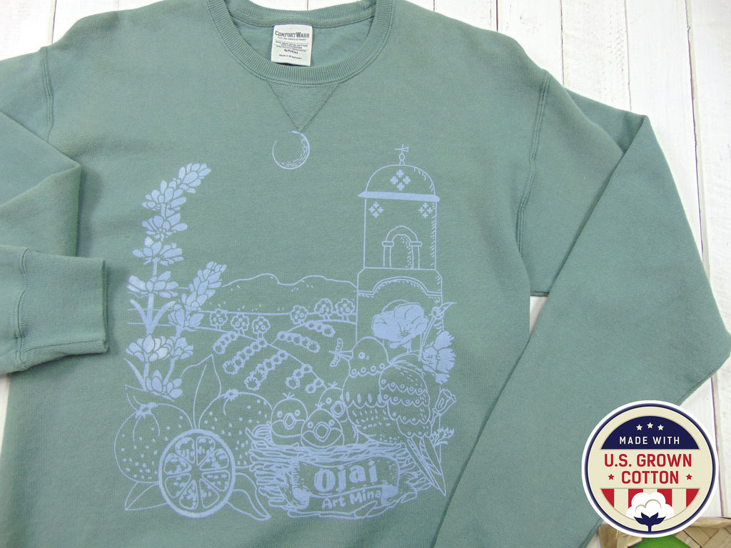 Unisex Sweatshirt Ojai California