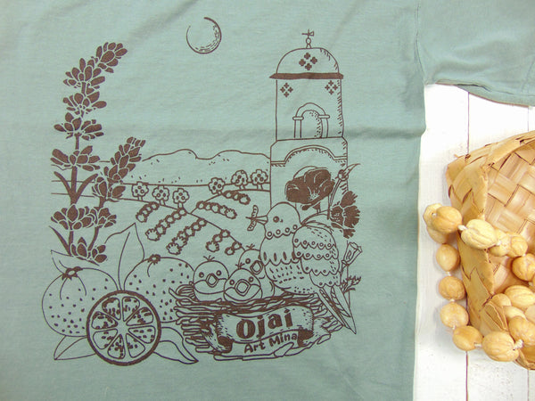 U.S. Grown Cotton Unisex Tee, Ojai California