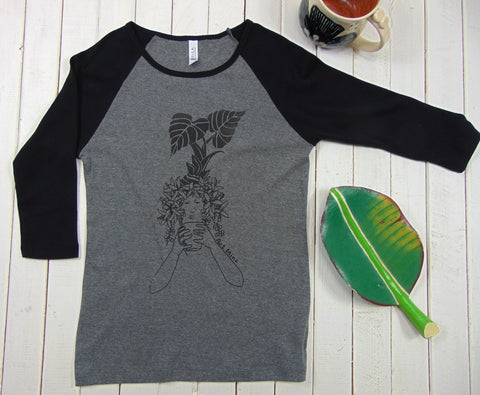 "Women's Soft Baseball Tee ""Morning Kona Coffee"" *NOTE: Re-stock in October of 2020!"