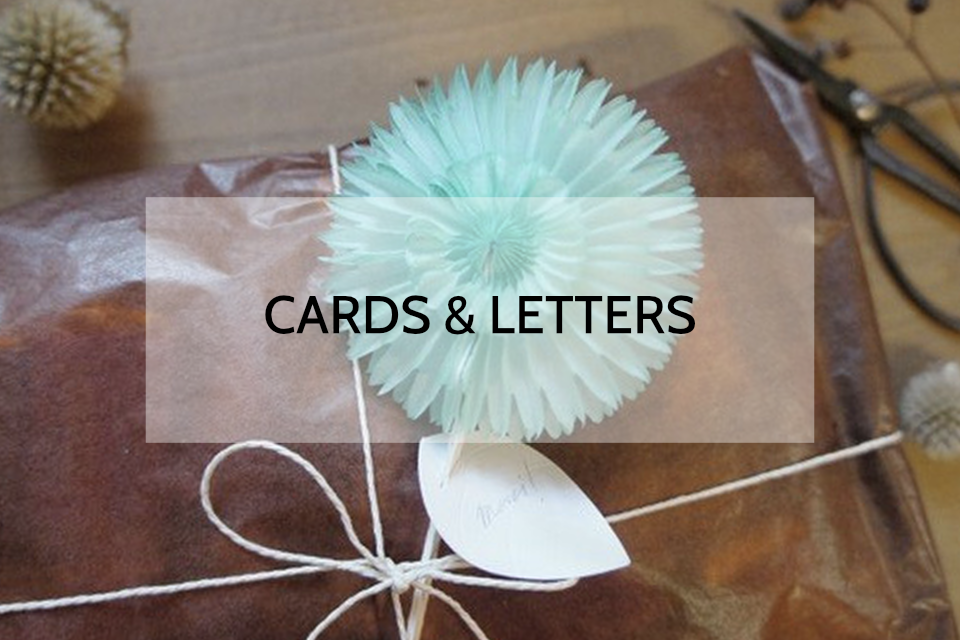 """""""Cards&letters"""