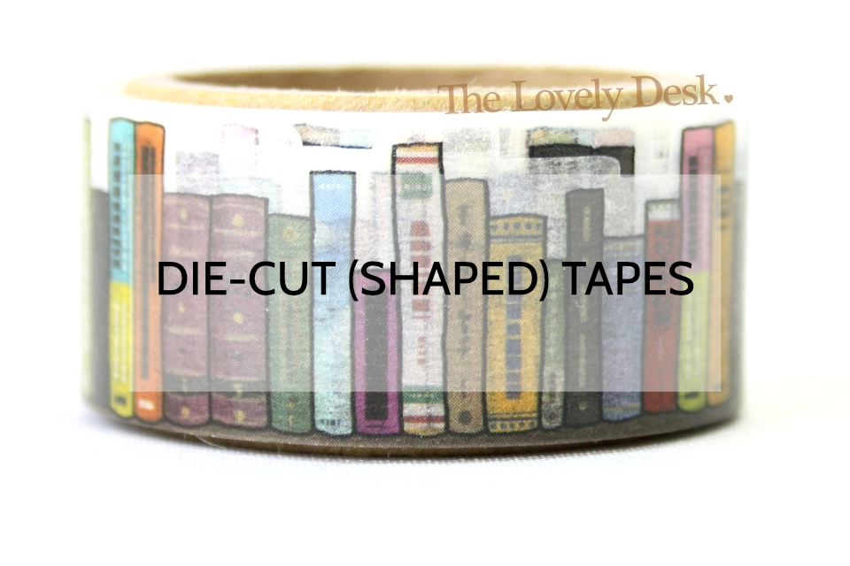 Die-Cut Shaped Washi Tapes