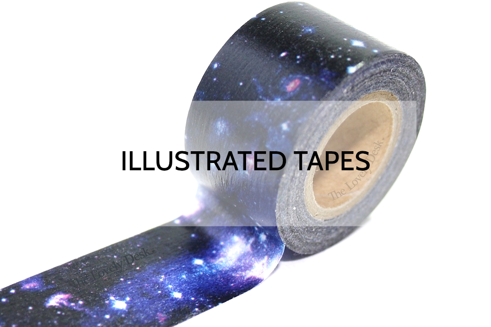 Illustrated Washi Tapes