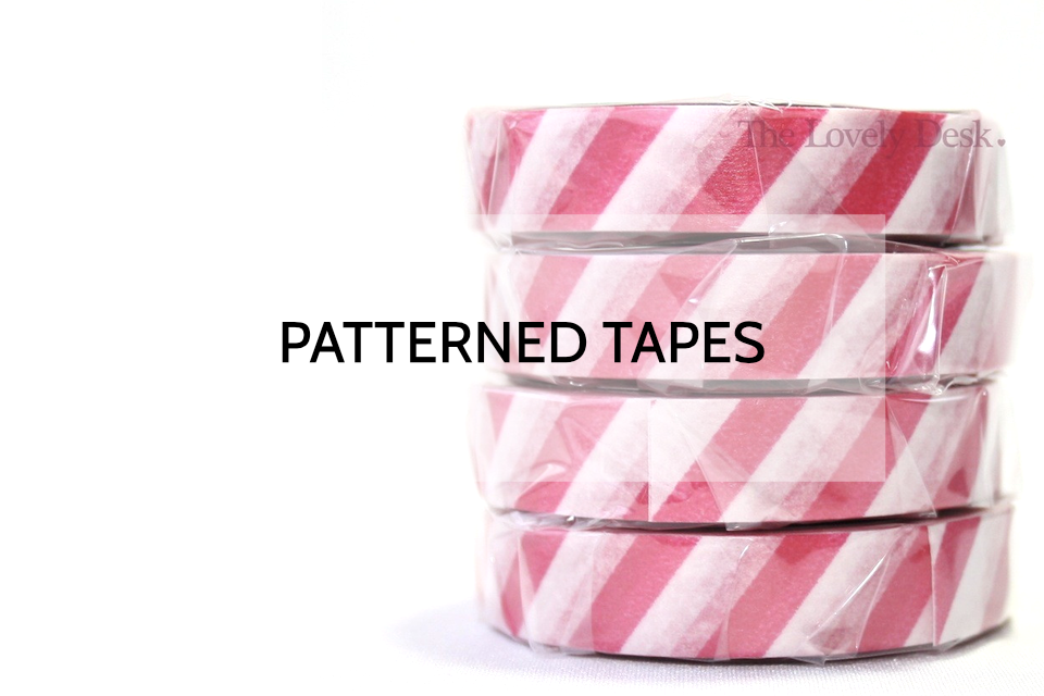 Patterned Washi Tapes