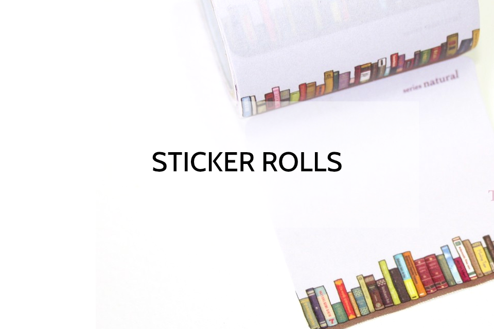 Sticker Rolls and Sticky Memo Tapes