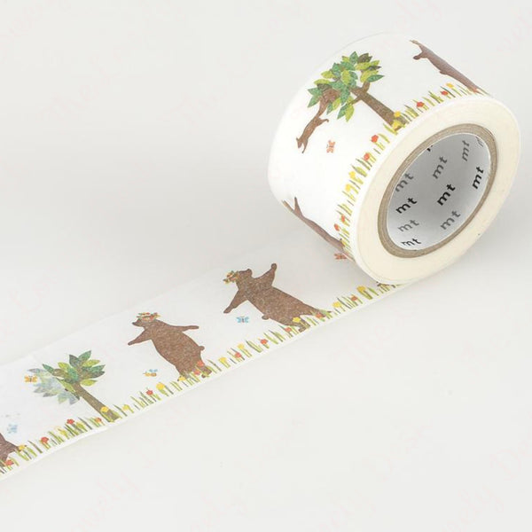 MT ex Bear & Squirrel Washi Tape (30mm)