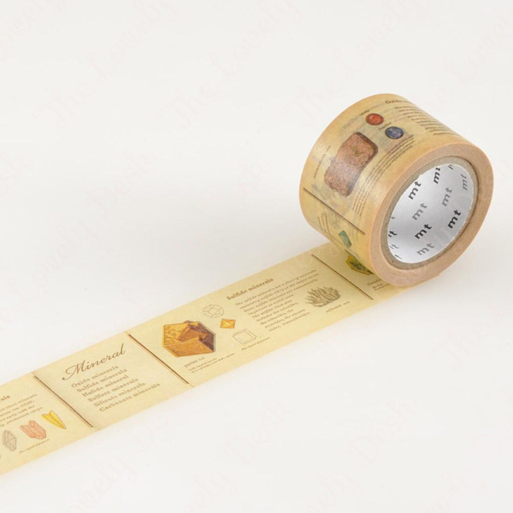 MT ex Encyclopaedia Mineral Washi Tape (30mm)
