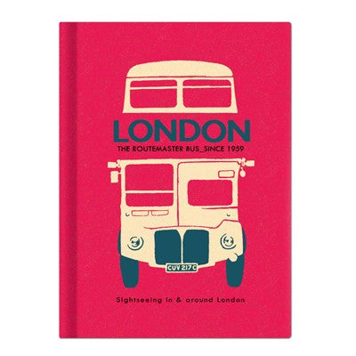 London Hardback Lined Notebook