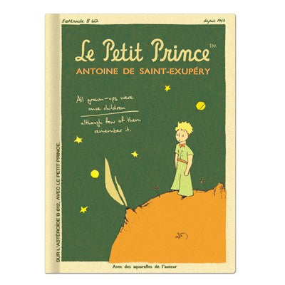 The Little Prince Hardback Plain Notebook