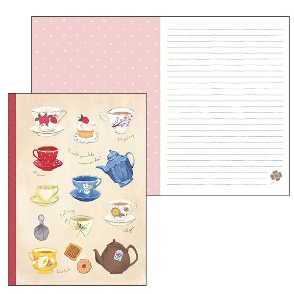 Aimez Le Style Tea Time Lined Notebook