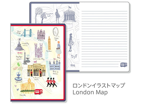Aimez Le Style London Lined Notebook