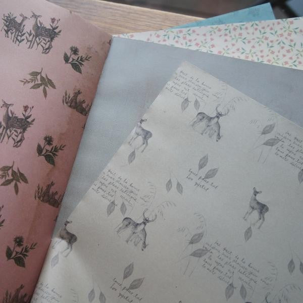 O-Check Wrapping Paper Book