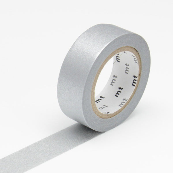 MT Silver Washi Tape (15mm)
