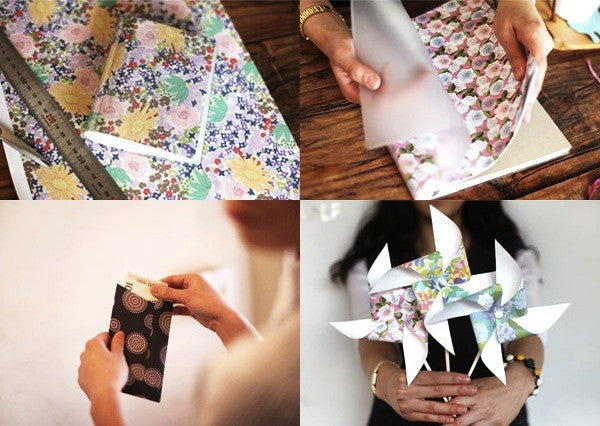 Decoration Paper Book