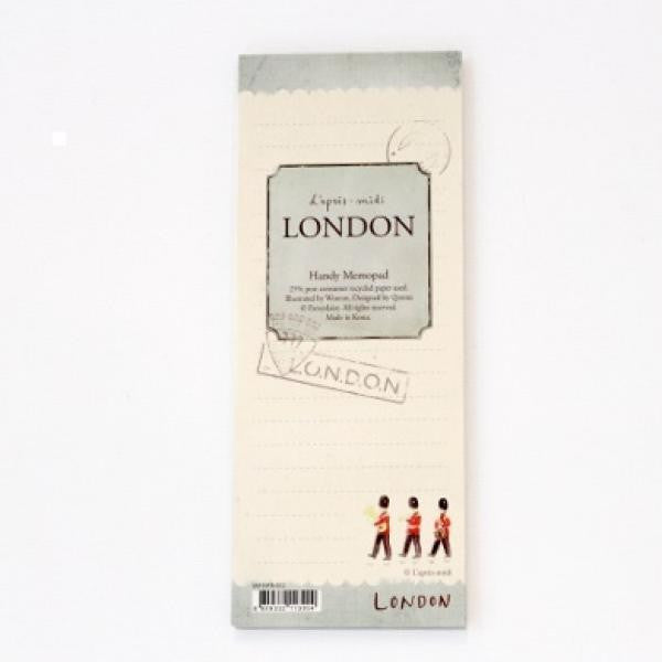 Handy Memopad - London