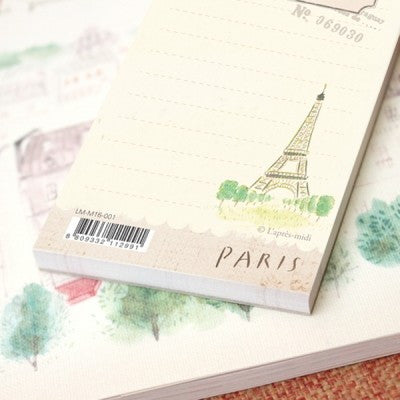 Handy Memopad - Paris Eiffel Tower