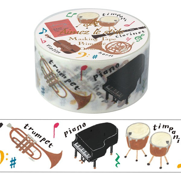 Aimez Le Style Orchestra Washi Tape (28 mm)