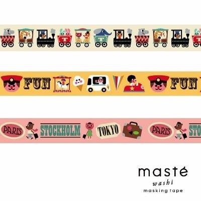 Masté Collab' - Ingela P Arrhenius Ivory Washi Tape (20mm)