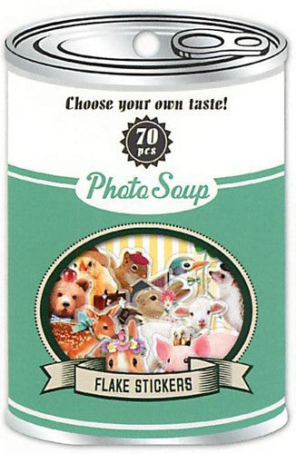 Photo Soup Flake Stickers - Animals