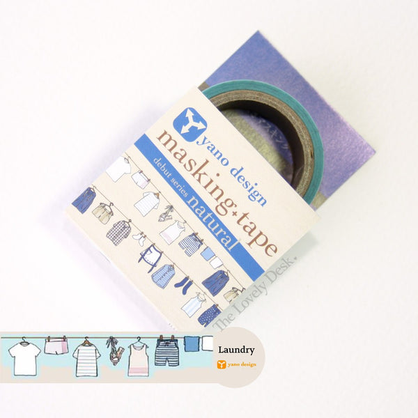 Yano Design Laundry Die-Cut Masking Tape