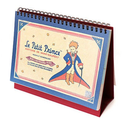 The Little Prince Weekly Desk Ver3 Planner/Scheduler - Cape