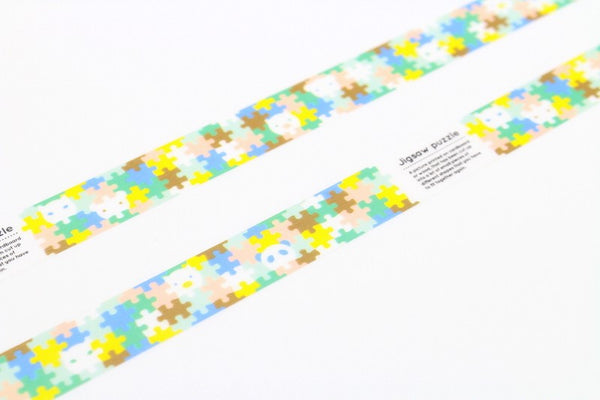 MT for Kids Jigsaw Puzzle Washi Tape (15mm)
