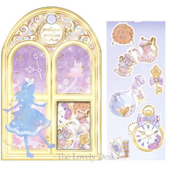 Prologue Princess Flake Stickers - Alice in Wonderland