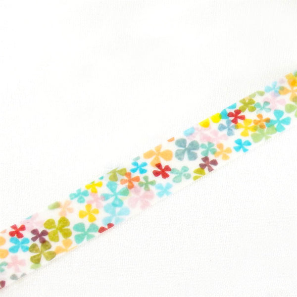 Chamil Garden Petal Washi Tape (15mm, Floral Washi)
