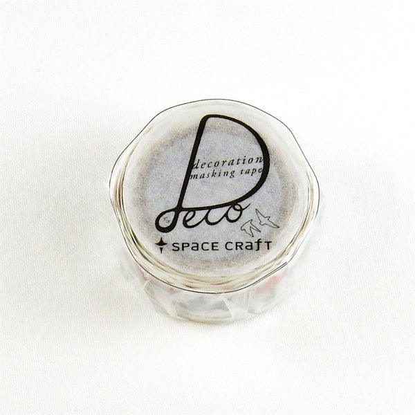 Space Craft Origami Washi Tape (20mm, Watercolour Washi)