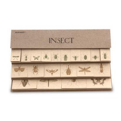 Index Sticker Set - Insect