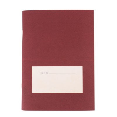 Vintage Small Note Lined - Deep Violet / Red