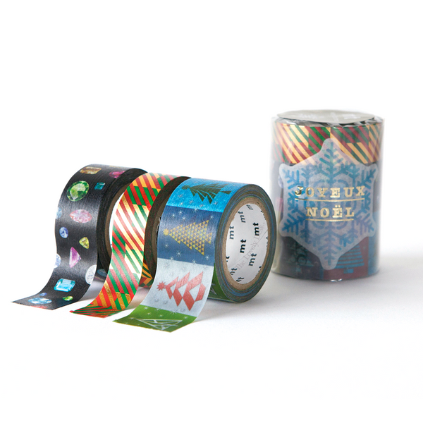 MT Christmas Washi Tape Set C [Festive Pack] (60mm)