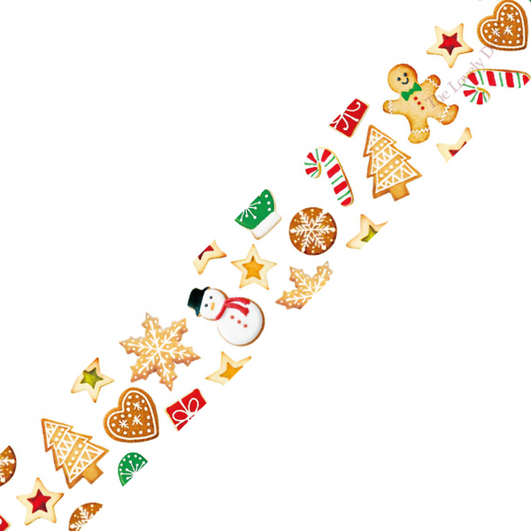 MT Christmas Cookies Washi Tape [Festive 2016] (15mm)