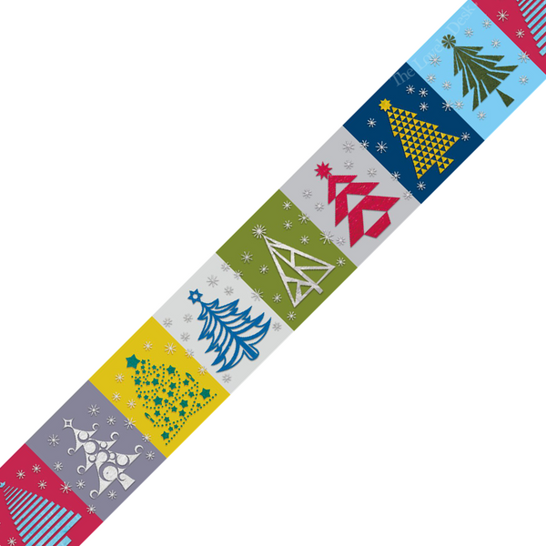 MT Christmas Paper Tree Washi Tape [Festive 2016] (25mm)