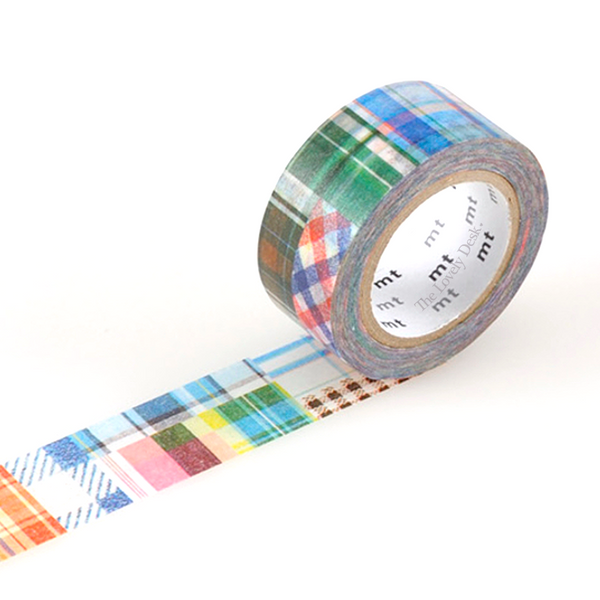 MT ex Patchwork Collage Washi Tape (20mm)