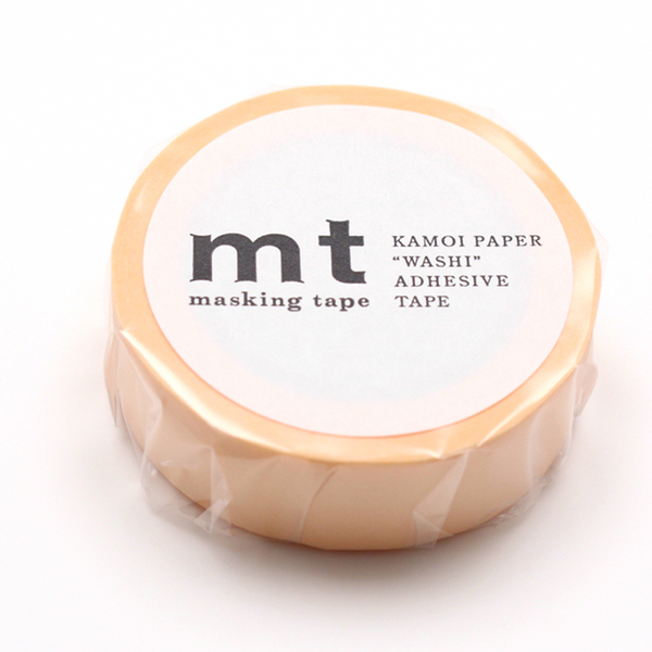 MT Pastel Orange Washi Tape (15mm)