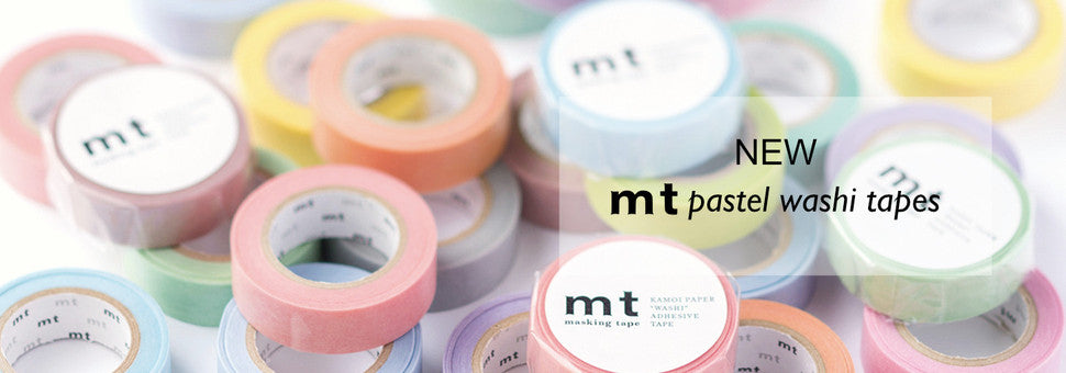 MT Pastel Washi Tapes