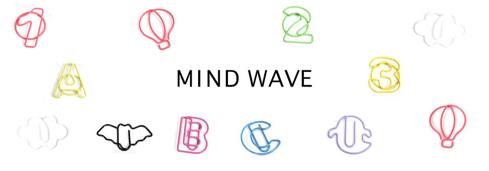 Mind Wave | Cute Japanese Stationery - Stickers, Washi Tape, Clips & More!