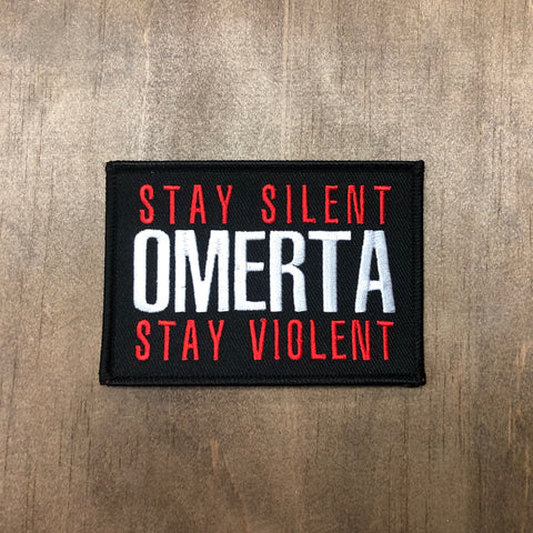 Stay Silent Stay Violent Patch