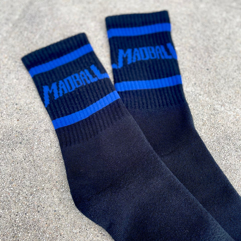 Madball Black w/ Blue Socks